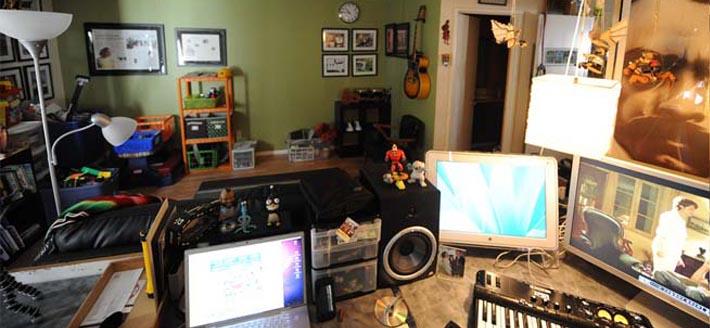 Lo m s obvio y a veces lo m s olvidado el espacio estudio casero - Como insonorizar una habitacion casera ...